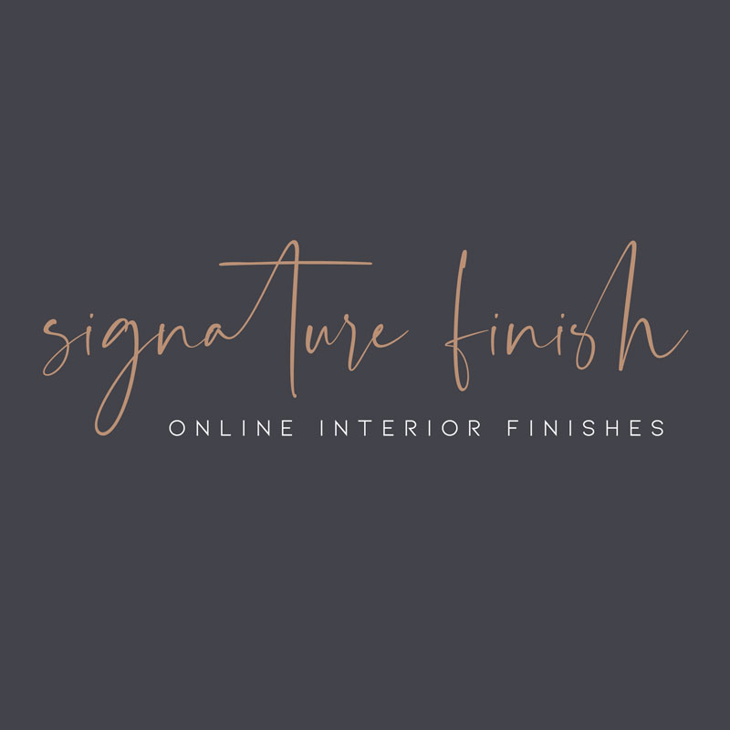 Signature Finish Logo by Loft Agency